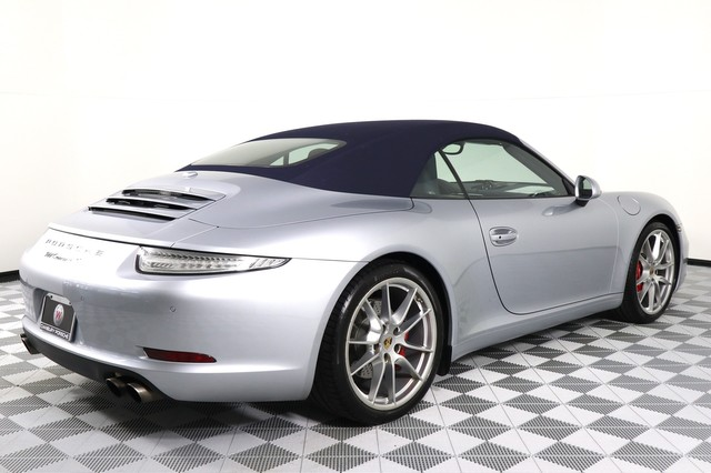 Certified Pre-Owned 2015 Porsche 911 Carrera S Cabriolet
