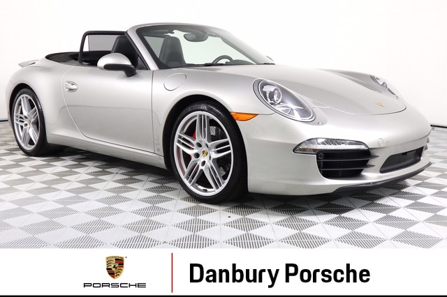 Certified Pre-Owned 2013 Porsche 911 Carrera S Cabriolet
