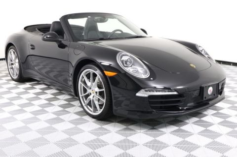 Certified Pre-Owned 2012 Porsche 911 Carrera Cabriolet