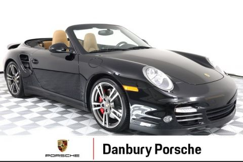 Certified Pre-Owned 2012 Porsche 911 Turbo Cabriolet